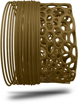 Ecogenius PLA 3D Printing Filament - TreeD Filaments